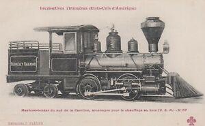 postcard F Fleury Paris 57 - Les Locomotives Etrangeres