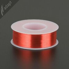 39 AWG Gauge Magnet Wire Red 6400' 155C Solderable Enameled Copper Coil Winding