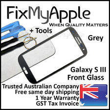 Samsung Galaxy S III S3 i9300 i9305 Grey Front Glass Screen Lens Replacement 3G