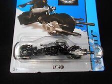HW HOT WHEELS 2014 HW CITY #64/250 BATMAN BAT-POD MOTORCYCLE HOTWHEELS BLK VHTF