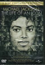 MICHAEL JACKSON-Life Of An Icon-2 DVD Set-R4-BRAND NEW-Still Sealed