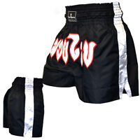 TurnerMAX Muay Thai Shorts Boxing Training Punching Exercise Trunks MMA UFC New