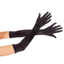 Hot Girl Ladies Prom Wedding Fancy Elbow Length Party Costume Opera Stain Gloves
