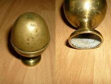 1a Pomme en Laiton d'escalier ou Tringle à rideau