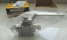 Whitey Swagelok New Ball Valve SS-T63MS4 NIB