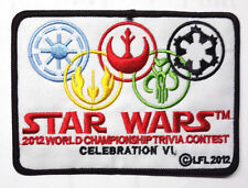 "Star Wars Celebration VI-2012 Championship Trivia Contest 5"" Patch(EBPA-SW-C606)"
