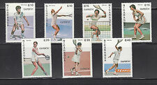 Nicaragua 1987 Pan American Games Sc 1624-1630 Cplte Mint Never Hinged