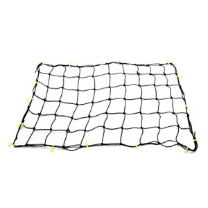 Tooluxe 50969L Adjustable Cargo Net, 36 x 60-Inch | 16 Sturdy Nylon Hooks | for