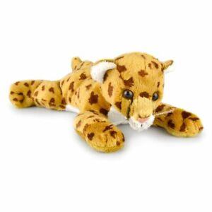Korimco 23cm Charlie Cheetah Kids Animal Soft Plush Stuffed Toy Brown 3y+