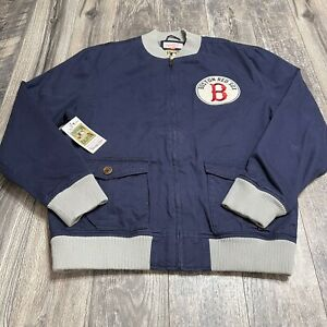 Boston Red Sox Cooperstown Authentic Collection Jacket By Mitchell & Ness Sz 3XL