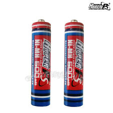 2 pcs AAA 600mAh 1.2V Volt Rechargeable Battery HyperPS For Camera RC Toys
