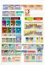 British All Mint Stamp Sets On Stock Pages