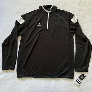 Men's Adidas Athletic Pullover Top Large New With Tags