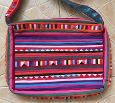 THAI HMONG TRIBE HANDMADE COTTON EMBROIDERED PATCHWORK TRAVEL WOMEN SHOULDER BAG