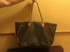 LOUIS VUITTON Monogram Canvas Neverfull MM Tote Shoulder Bag