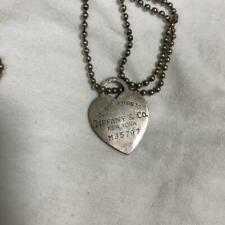 """TIFFANY & Co. Return to Heart Tag Necklaces Pendants Vintage 84cm 33"""" F/S"""