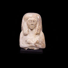A New Kingdom limestone ushabti figure Circa 12th Century Bc Egypt a2902
