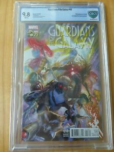 Guardians of the Galaxy #18, Alex Ross color variant, Marvel