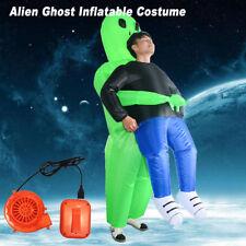 Adult Inflatable Costume Halloween Blow Up Suit Party Fancy Dress Alien