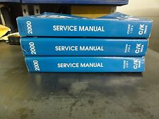 2000 Chevrolet GMC Cadillac C/K Truck Service Manual  Volume 1-3