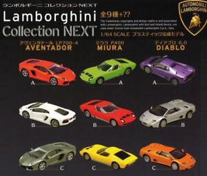 F-Toys 1/64 Lamborghini Diablo Aventador Miura Collection NEXT Full Set