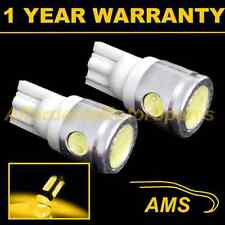 2x W5W T10 501 Xenón Ámbar 3 LEDS SMD bombillas intermitentes Repetidores HID