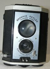 Vintage Eastman Kodak Brownie Reflex Box Camera SYNCHRO Model 127 + Metal SPOOL
