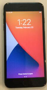 TESTED BLACK CDMA + GSM UNLOCKED APPLE iPhone 7 PLUS, 32GB A1661 MNR12LL/A T65P