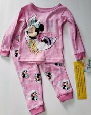 girls  Disney minnie mouse pyjamas Fleece Brand New Size 7-8