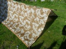 NEW British Army Desert Basha Camo DPM Camouflage Shelter Tarpauling Tent Cover