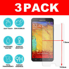 Screen Protector For Samsung Galaxy Note 3 - Tempered Glass 100% Genuine