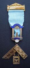 Masonic Past Masters Jewel Culminatum Lodge no 5709 Silver