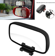 Pair SUV Car Parking Blind Spot Auxiliary Rear View Mirror Adjustable Wide Angle