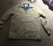 VTG Woolrich Tan Parka Full ZIP Jacket Coat Mens SZ L XL BARN FIELD Hunting