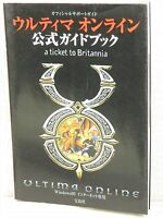 ULTIMA ONLINE Official Guide PC Book TJ71*