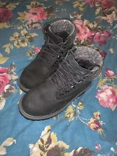 Genuine Black Timberland Boots Size 12.5 Kids