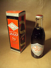 COCA COLA - COMMEMORATIVE 2000 - 300 ML COKE BOTTLE IN BOX  - JAPANESE NEW RARE