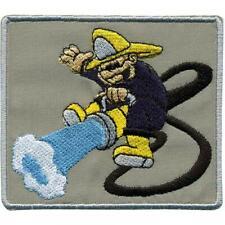 8 x 11 cm Gr ca Aufnäher Patch Applikation Feuerwehr 00410