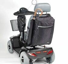 Mobility Bag Holdall with Side Mounted Holder for Crutches Cane Walking Stick