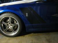 PP/_FM Paint Protection-Front Marker Lens Kit 2010//2011//2012//2013//2014 Mustang