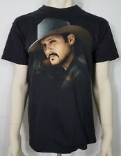 Tim McGraw Indian Outlaw vintage 1995 concert Tour black Ss t-shirt adults Large