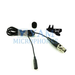 YAM LM3-C5L Black Omni-Directional Lavalier Mic FOR Lectrosonics Wireless Mics