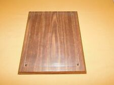 """2 13"""" X 10 1/4"""" Wood Wall Plaques To Hold Pictures Photos/Diplomas Etc"""