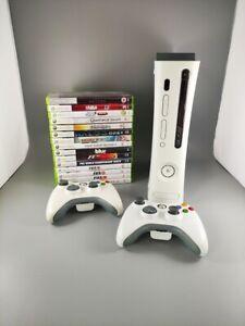 XBOX 360 320GB HDMI 2 CONTROLLERS 15 GAMES