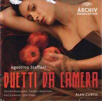 Agostino Steffani Alan Curtis Duetti da Camera (1982) 8-track CD Neu / Verpackt