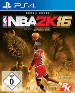 PS4 Basketball NBA 2K16 Michael Jordan Edition Sammlerzustand