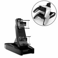 Controller Charger Charging Station Dock for PS5 Gamepad Stand Holder Gaming