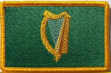IRISH Flag Embroidered Iron-On Patch Military Ireland National Tactical Emblem