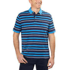 Tommy Hilfiger Core Knitted Pique Polo Shirt Navy Striped 2xl