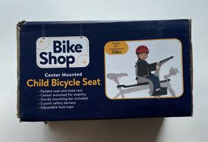 Bike Shop Child Bicycle Seat Center Mount KIDS SEAT